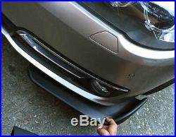 High Quality Carbon Fiber Look self-adhesive Car Bumper Splitter Lip Protector