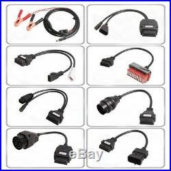 Hot 8PCS Car Cables + OBD2 Diagnostic Tool Bluetooth TCS CDP Pro