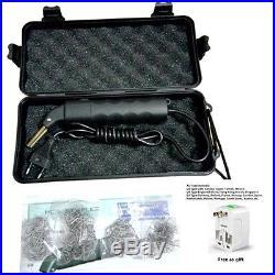 Hot LED Stapler Plastic Repair kit Car Bumper Welder Gun with 500 Hot Staples
