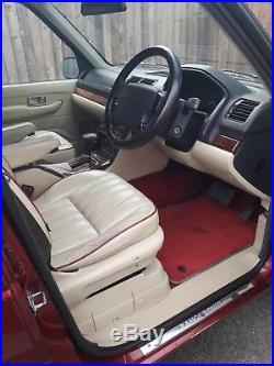 LIMITED EDITION 2001 Range Rover P38 Bordeaux 2.5 Diesel 4x4 Auto
