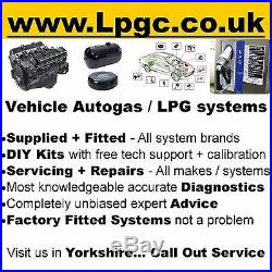 LPG Sequential System Range Rover P38 L322 Classic Rover V8 Engine 8 Cyl