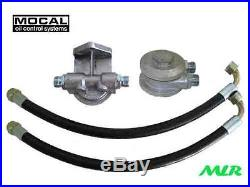 Land / Range Rover Sd1 V8 Mocal Rfk2 3/4unf Remote Oil Filter Kit Side Exit Xu