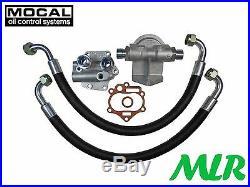 Land / Range Rover V8 Mocal Rfk5 Remote Oil Filter Kit With Oil Pump Cover Bdo