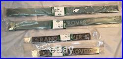 Land Rover Brand Range Rover P38 1995-2002 OEM Stainless Steel Door Sills NEW