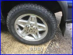 Land Rover D2 Range Rover P38 Mondial Wheels 255 55 18 General Grabber AT3 Tyres