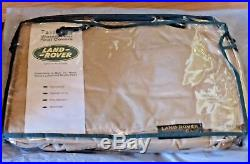 Land Rover OEM Range Rover P38 1995-02 SE HSE Lightstone Fitted Rear Seat Covers