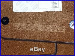 Land Rover OEM Range Rover P38 1995-2002 Genuine Walnut/Saddle Carpet Mat Set