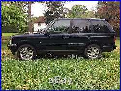 Land Rover Range Rover P38 2.5dt 5 Speed Manual Overfinch L322