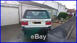 Land Rover Range Rover P38 P38a Autobiography Diesel White