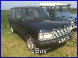 Landrover Range Rover P38 5 door station wagon 4.0 V8 Spares or Repair