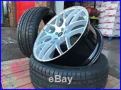 Mercedes ML Brabus STYLE DTM ALUWERKS HYPERSILVER 22 Inch Alloy Wheels + Tyres