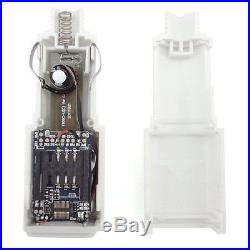 New Real time White Auto Interior Charger GPS Locator GPRS Tracking Device Kit