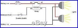 Off Road LED Light Bar 50 288W 12V-24V CURVED SPOT 23040 Lumen 2x48 LEDs