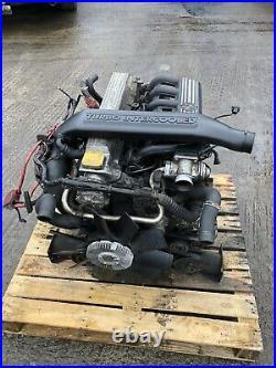 RANGE ROVER P38 2.5 BMW DIESEL COMPLETE ENGINE 98-02 LATE TYPE 132k Miles