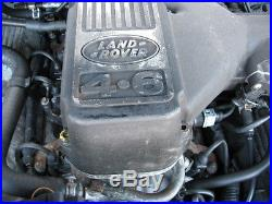 RANGE ROVER P38 4.6 V8 GEMS ENGINE Complete with Ancillaries Full working Order