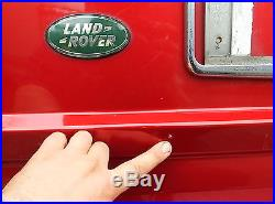 RANGE ROVER P38 REAR LOWER TAILGATE Paint Code 601 Rioja Red, Breaking whole car