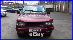 Range Rover Bordeaux P38 2001