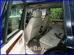 Range Rover P38A 4.0 HSE Auto Petrol X Reg 2000 Epson Green Pearl Met/Lightstone