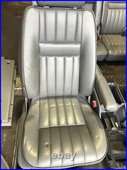 Range Rover P38 2.5 4.0 4.6 Manual Dark Grey Leather Interior Seats 94-02 Camper