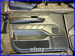 Range Rover P38 2.5 4.0 4.6 Westminster Black Leather Interior 5 Bar Rare 94-02