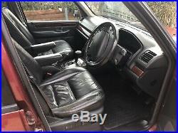 Range Rover P38 2.5 DHSE Diesel Auto Black Nappa leather top spec Alpine system