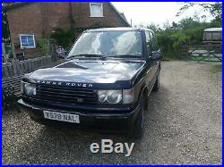 Range Rover P38 2.5 DSE Impeccable history 12 mths MOT superb condition for year