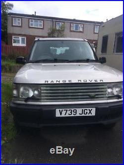 Range Rover P38 2.5 Diesel Spares Or Repair