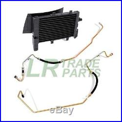 Range Rover P38 2.5d Auto Gearbox Transmission Oil Cooler & Pipes Kit (1995-02)