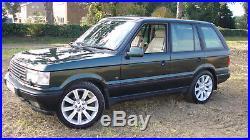 Range Rover P38 4.0L Petrol Low Milage (93K) Epsom Green/Magnolia (2001)