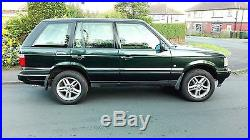 Range Rover P38 4.0 Se Auto Met Green Long M. O. T Low Mileage Lovely Condition