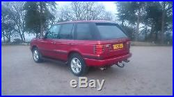Range Rover P38 4.6 V8 Vogue Red Stunning example Private Plate incl