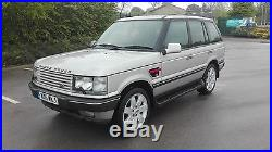 Range Rover P38 4.6 Vogue Auto Met Silver Low Miles M. O. T Stunning Looking 4x4