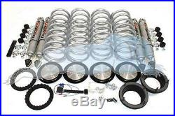 Range Rover P38 Air To Coil Conversion Kit Heavy Duty Incl Shocks 1 INCH LIFT