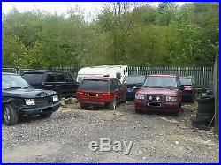 Range Rover P38 Discovery Vw 18 Mondial Alloys With Tyres