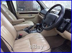 Range Rover P38 Thor 4.6 Engine Petrol / Lpg. Full Cream Leather, Black Paint