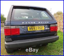 Range Rover P38 Vogue 2000