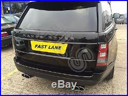 Range Rover Vogue Sport L405 Stainless Steel Performance Tail Pipes Exhaust