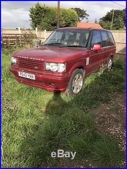 Range Rover p38 2.5 autobiography