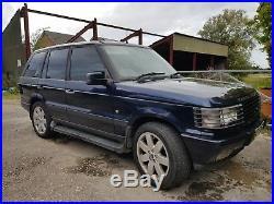 Range Rover p38 VOGUE AUTOBIOGRAPHY 4.6 v8 auto 2000 LPG 145k royal blue MOT