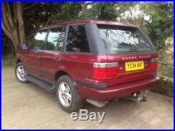 Range rover p38 diesel auto 2001