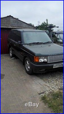 Range rover p38 fitted with 5 speed manual gearbox