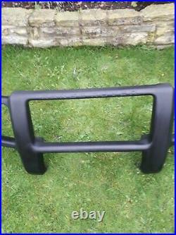 Range rover p38 full wrap round bull bar black rare exellent condition