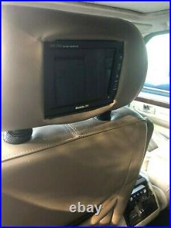 Range rover p38 vogue se interior with monitors rare colour