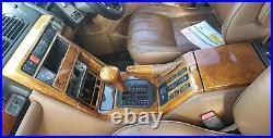 Range rover p38 wood autobiography set