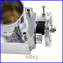 UK 70MM Aluminum Billet Throttle Body Performance Intake Manifold High Flow