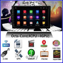 Ultra-thin Android 8.0 10.1 1080P 4CPU + 4GPU 1+16G Car Stereo Radio GPS Wifi