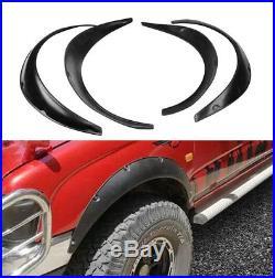 Universal 4pcs JDM Fender Wheel Arches Flare extension flares wide Polyurethane