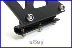 Universal Adjustable Lightweight Aluminum Rear car GT Wing Racing Spoiler Black