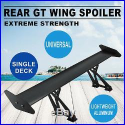 Universal Drift Aluminum Light Weight GT Rear Racing Spoiler Wing Hatch