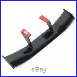 Universal Mini Spoiler Auto Car Tail Decoration Spoiler Wing Carbon Fiber Black